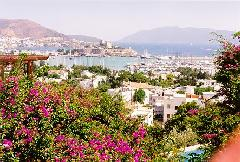View of Bodrum from the Hotel
